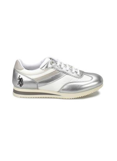 U.S. Polo Assn. Sneakers Gümüş